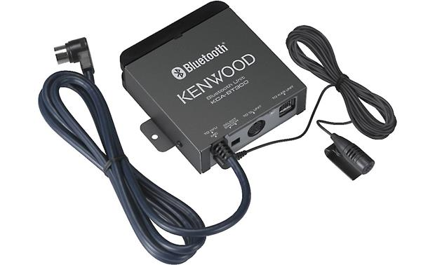 g113BT300 f kenwood kca bt300 bluetooth� adapter for kenwood receivers at kenwood dnx5160 wiring diagram at eliteediting.co