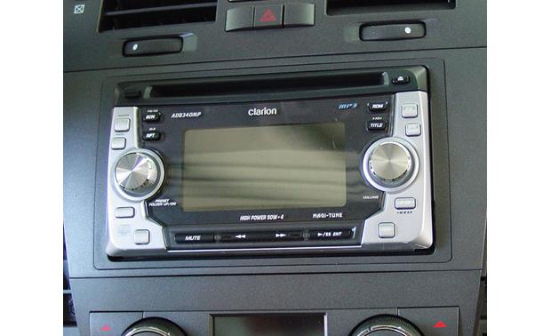 Metra 99-2008 Dash Kit Kit installed