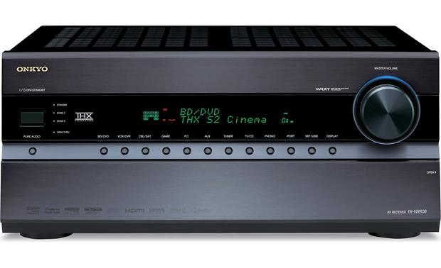 onkyo tx nr808 home theater receiver with 3d ready hdmi switching rh crutchfield com