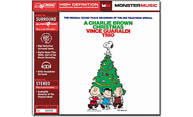A Charlie Brown Christmas by the Vince Guaraldi Trio Front
