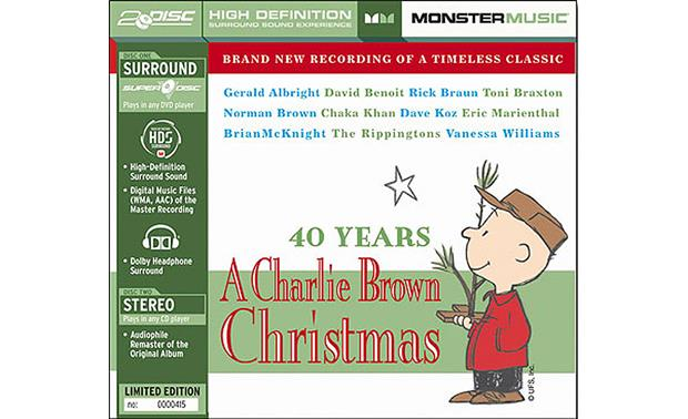 40 Years: A Charlie Brown Christmas (Various Artists) Front