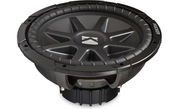 Kicker Comp Cvr 12 Box Specs: Kicker 10CVR124 CompVR 12 subwoofer with dual 4-ohm voice coils at rh:crutchfield.com,Design