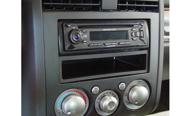Metra 99-7012 Dash Kit Kit installed