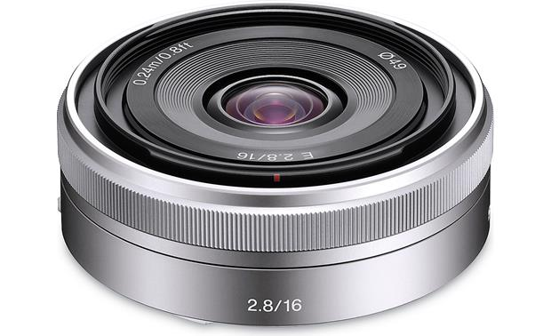 Sony SEL 16mm f/2.8 Wide-Angle Lens Front
