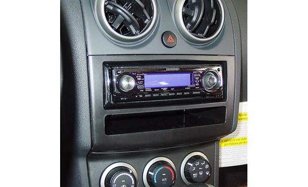 Metra 99-7425 Dash Kit Kit installed with a single-DIN radio (sold separately)