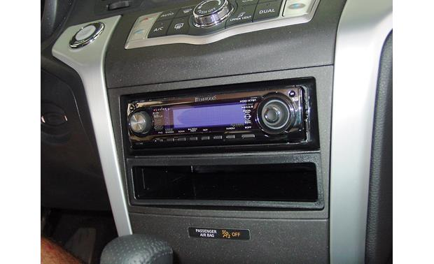 Metra 99-7426 Dash Kit Kit installed with single-DIN car stereo (sold separately)