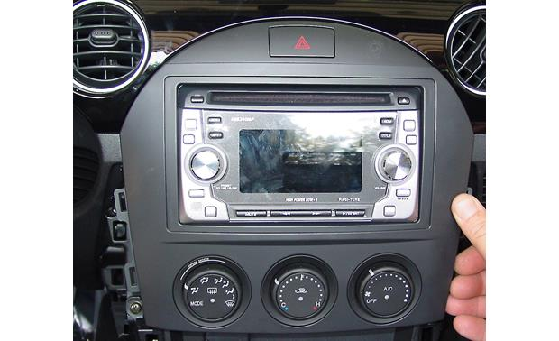 Metra 99-7506 Dash Kit Kit installed with aftermarket radio (not included)