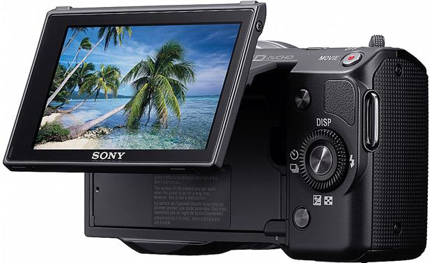 Sony NEX-5A Screen tilted up (black)