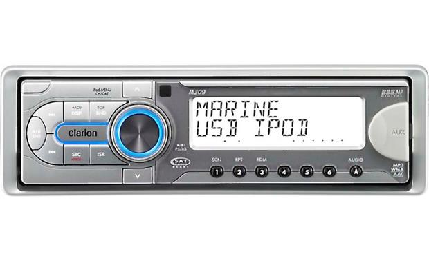 Clarion M309 Marine Receiver Front