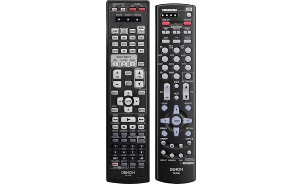 Denon AVR-3311CI Main remote and 2nd/3rd-room remote