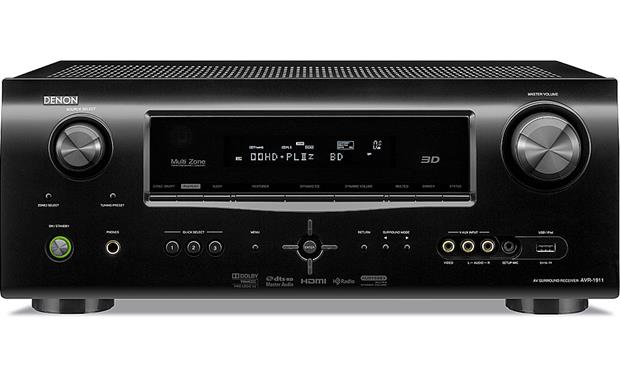 denon avr 1911 home theater receiver with 3d ready hdmi switching at rh crutchfield com denon avr 1911 manual english denon avr 1911 manuel