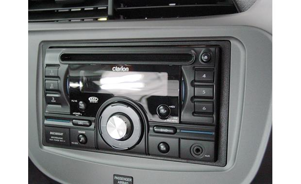 Metra 99-7877 Dash Kit Kit installed with double-DIN radio (sold separately)