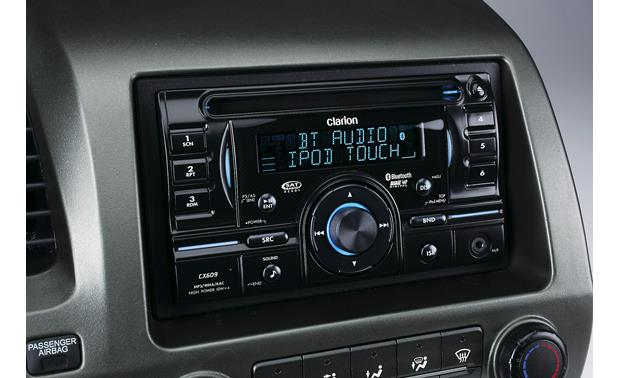 clarion cx609 cd receiver at crutchfield comclarion cx609 front
