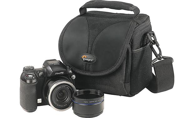 Lowepro Rezo™ 110 AW Shown with camera (not included)
