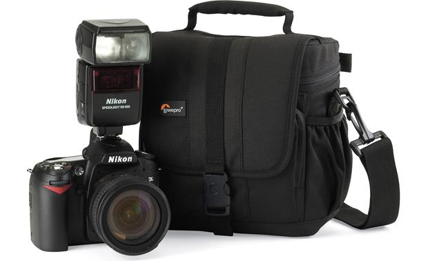 Lowepro Adventura™ 140 Shown with camera (not included)
