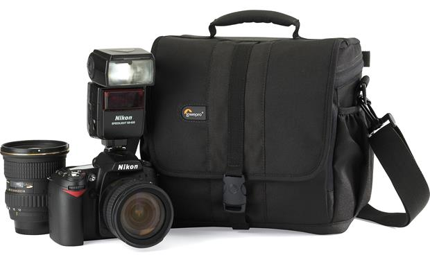 Lowepro Adventura™ 170 Shown with camera (not included)