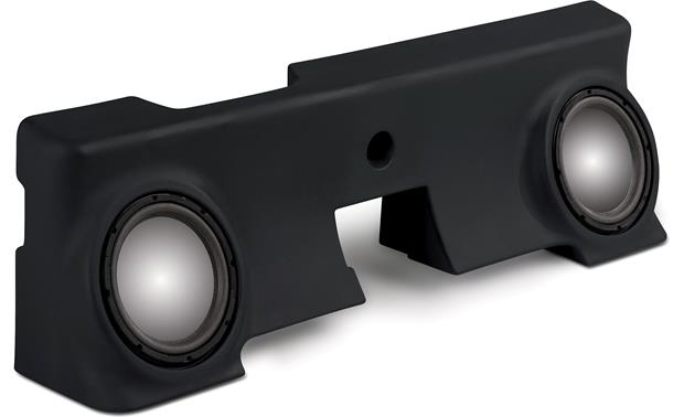 MTX ThunderForm Unloaded Enclosure Black (subs not included)