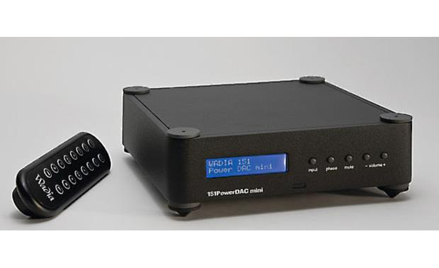 Wadia 151 PowerDAC mini Shown with remote