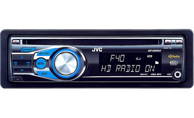 JVC KD-HDR40 on