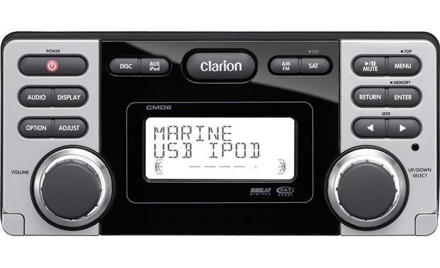 Clarion CMD6 Marine CD receiver at Crutchfield.com