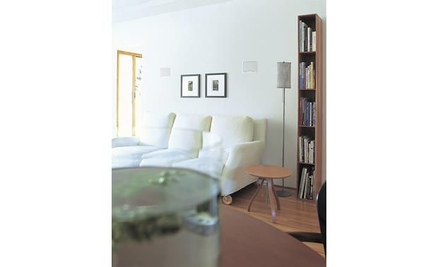 Bose® Virtually Invisible® 191 speakers Installed in wall