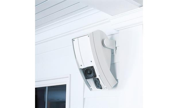 Bose® 251® environmental speakers White, installed under eaves