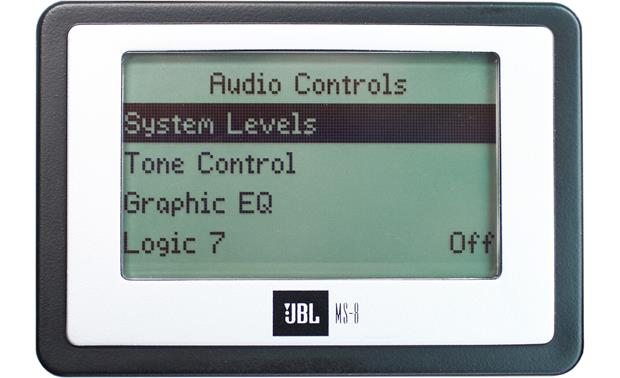 JBL MS-8 LCD display