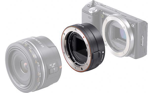 Sony LA-EA1 Alpha A-mount lens to NEX camera adapter at