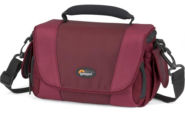 Lowepro Edit™ 130 Front (Bordeaux Red)
