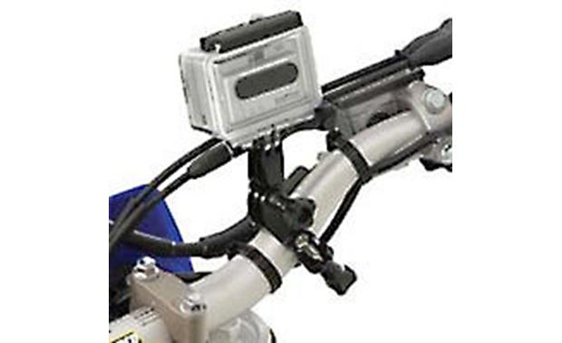 GoPro Handlebar Seatpost Mount Shown attached to bike (camera and bike not included)