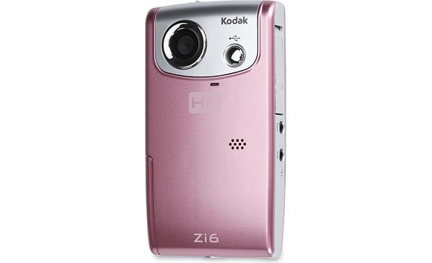 kodak zi6 pink hd pocket video camera at crutchfield com rh crutchfield com Kodak Zi8 Walmart Kodak Zi8