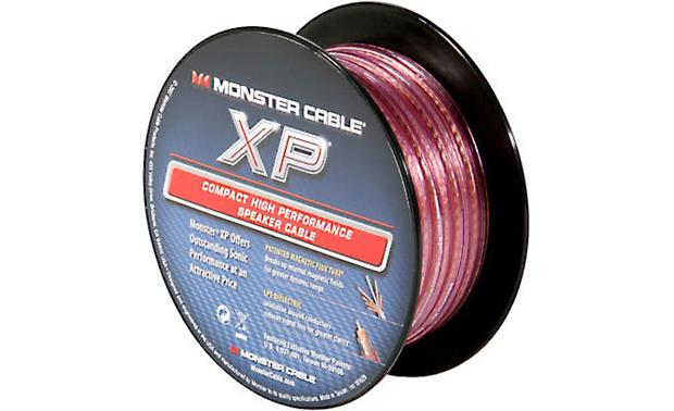 Monster XP® (50 feet) 16-gauge speaker cable with clear jacket at ...