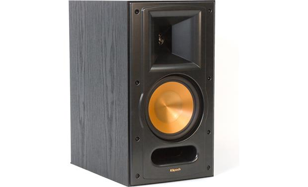 Klipsch Reference RB-61 II Black ash with grille off