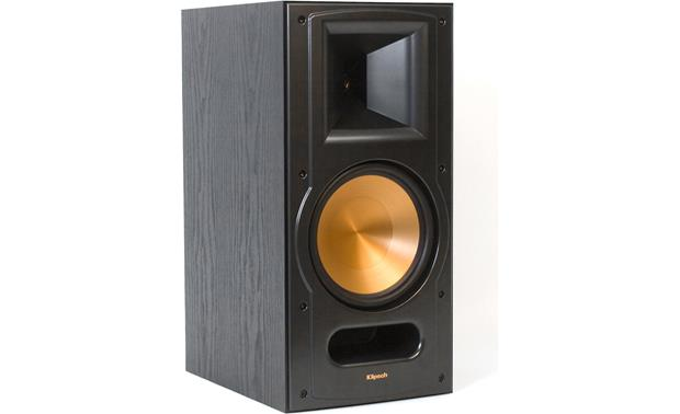 Klipsch Reference RB-81 II Black ash with grille off