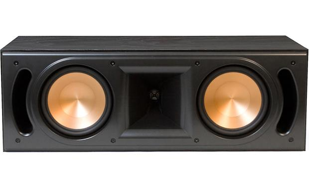 Klipsch Reference RC-62 II Black ash with grille off
