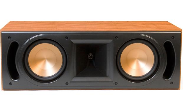 Klipsch Reference RC-62 II Cherry with grille off