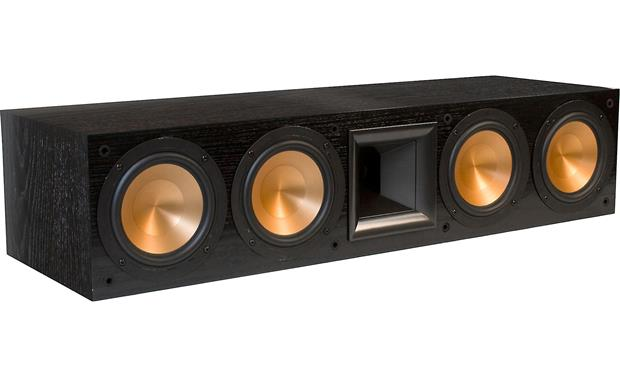 Klipsch Reference RC-64 II Black ash with grille off