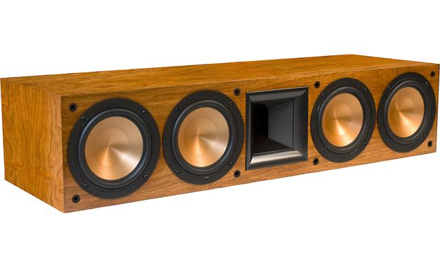 Klipsch Reference RC-64 II Cherry with grille off