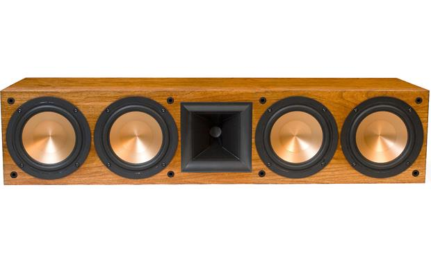 Klipsch Reference RC-64 II Cherry front with grille off
