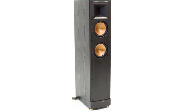 Klipsch Reference RF-62 II Black ash with grille off