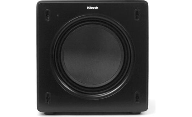 Klipsch SW-308 Direct front view (grille off)