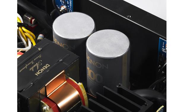 Denon PMA-A100 Large capacitors