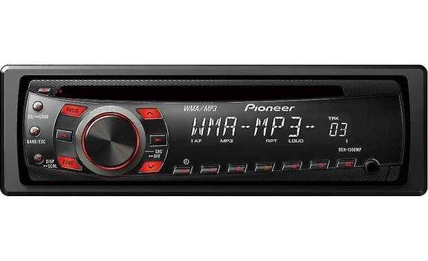 Pioneer DEH-1300MP Front