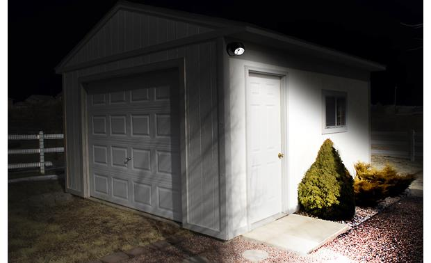 MAXSA Battery-powered Outdoor Light Illuminating shed