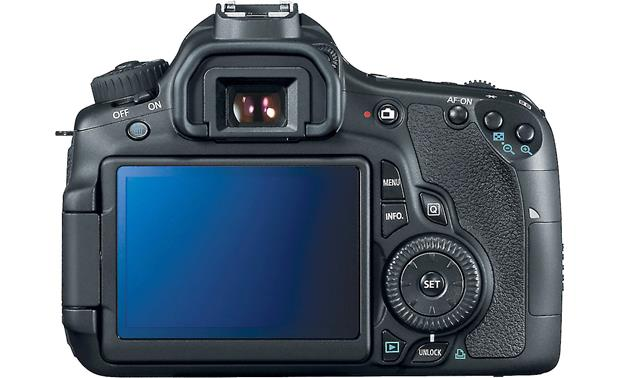 Canon EOS 60D (no lens included) Back (LCD screen facing out)