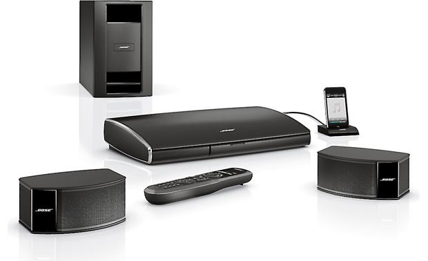 Bose lifestyle 235 2.1 home theater system.