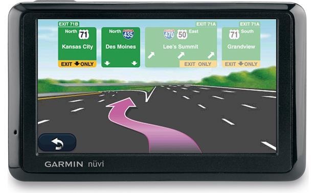 garmin n vi 1390lmt portable navigator with free lifetime traffic rh crutchfield com garmin nuvi 1300 manual garmin nuvi 1490 manual