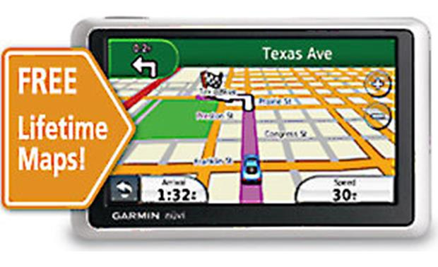 Garmin Nüvi LM Portable Navigator With Lifetime Map Updates - Garmin nuvi 50 us maps download free