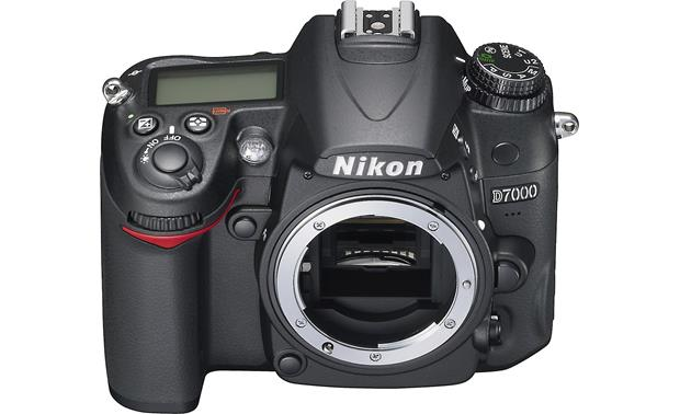 Nikon D7000 (no lens included) Front (angled view)