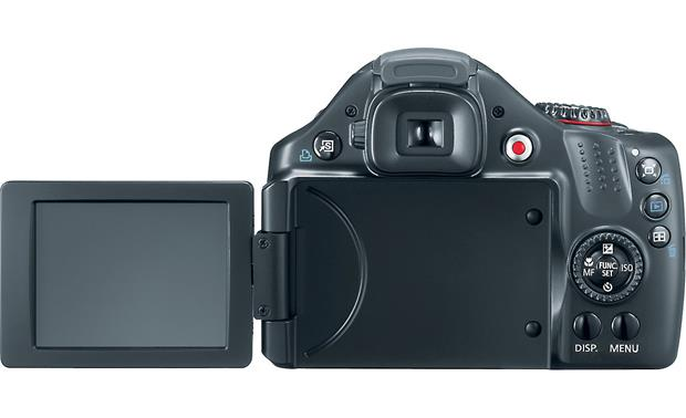 Canon PowerShot SX30 IS Back - LCD open